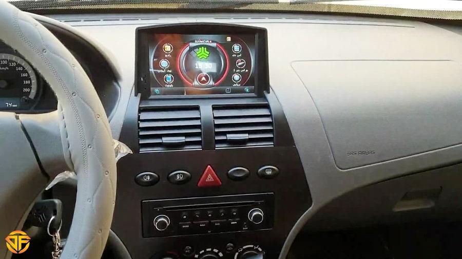 Car 7 inches Android Multi Media for Saipa Tiba-2-min