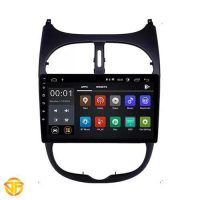 Car 9 inches Android Multi Media for Peugeot 206-1-min