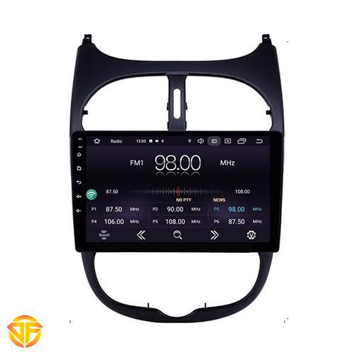 Car 9 inches Android Multi Media for Peugeot 206-2-min