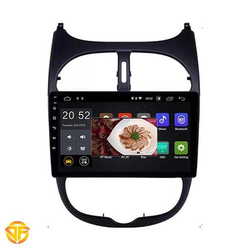 Car 9 inches Android Multi Media for Peugeot 206-3-min