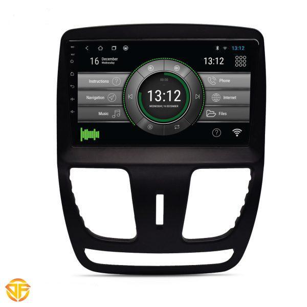 مولتی مدیا ۹ اینچ اندروید خودروی سایپا ساینا و کوییک