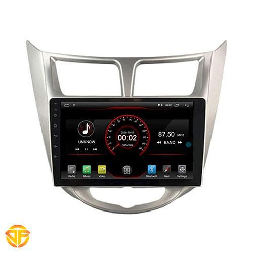 Car 9 inches Android Multi Media for hyundai accent-3-min