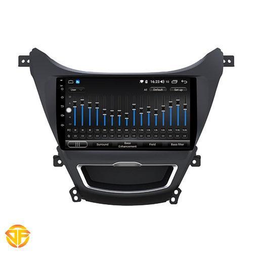 Car 9 inches Android Multi Media for hyundai elantera-2-min