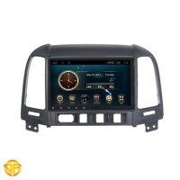Car 9 inches Android Multi Media for hyundai santafe 2008-1-min