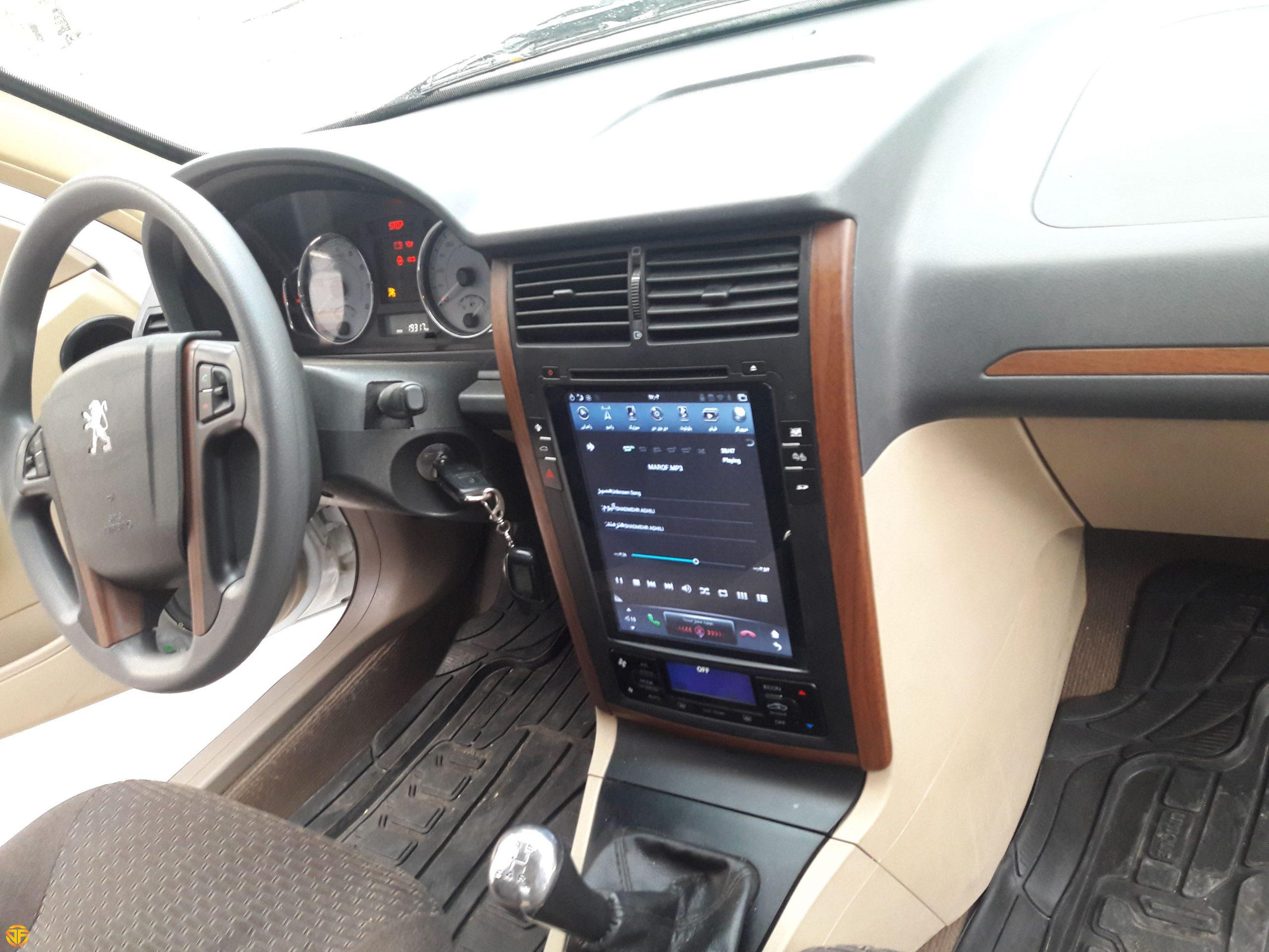 car 14 inches multimedia for peugeot pars-5-min