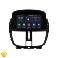 car android 7inches multimedia for peugeot 207-2