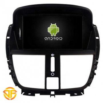 مولتی مدیا 7 اینچ اندروید خودروی پژو 207