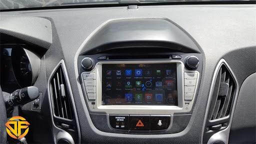 مولتی مدیا ۹ اینچ اندروید خودروی هیوندای توسان ix35