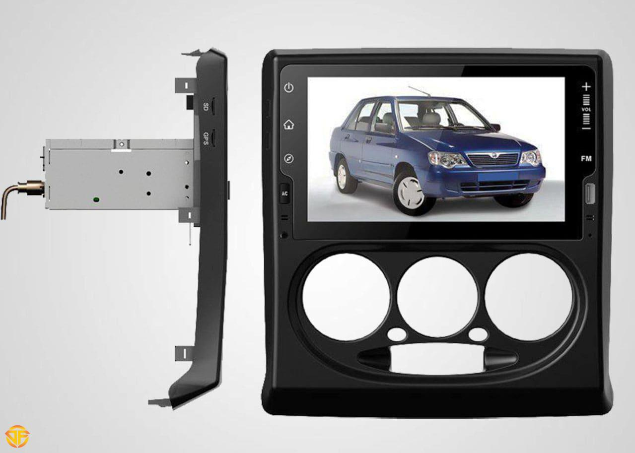 مولتی مدیا ۹ اینچ خودروی سایپا پراید
