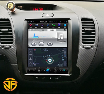 مولتی مدیا تسلایی اینچ اندروید خودروی کیا سراتو k3