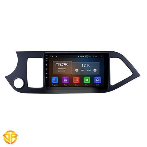 car tesla Android multimedia for kia picanto-1-min