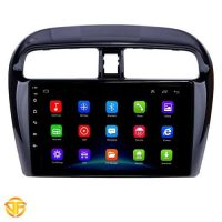 Car 9inch android multimedia for mitsubishi mirage-1-min